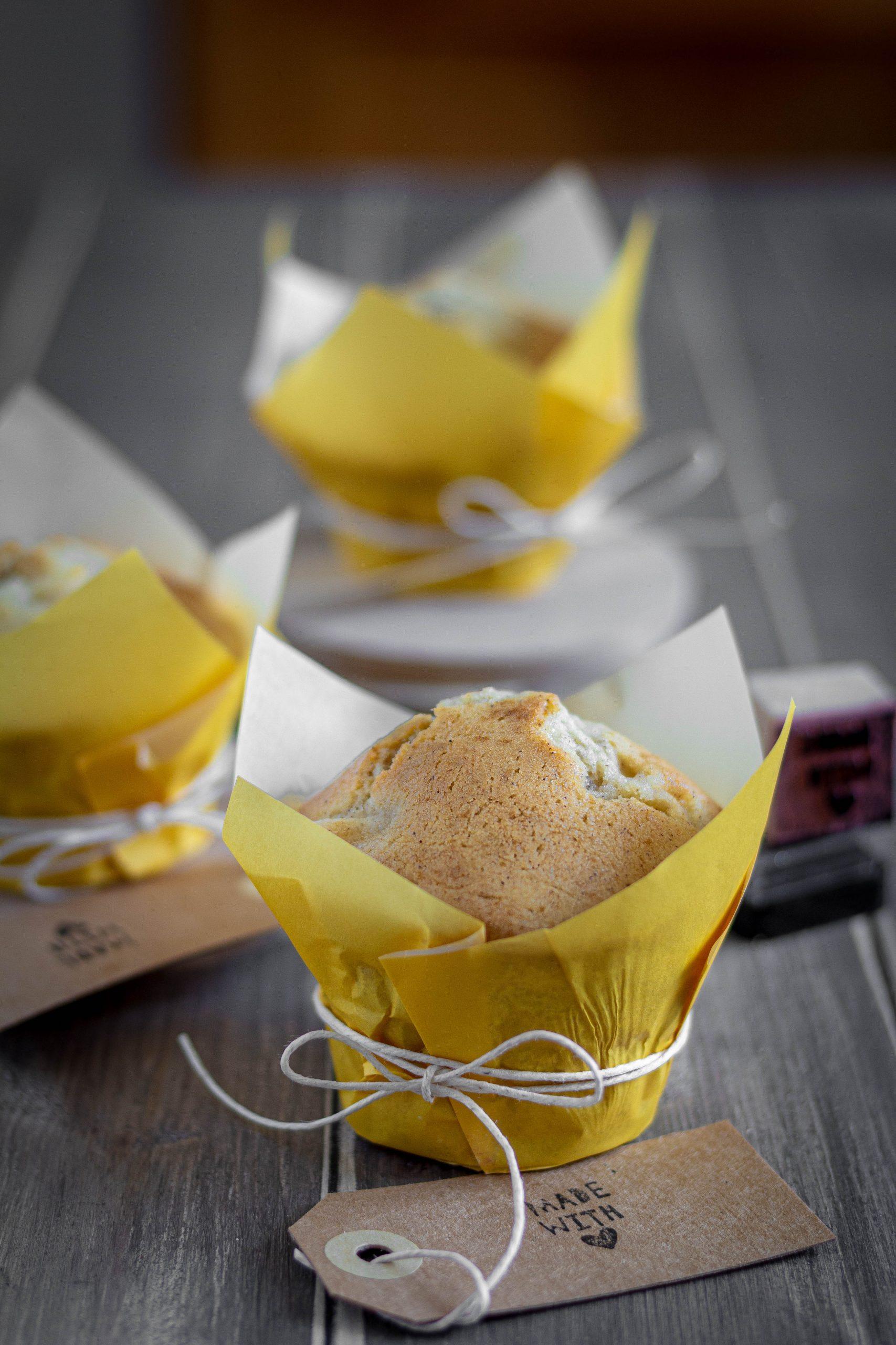 Muffins con pere e mascarpone