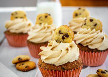 Cupcakes impasto per biscotti